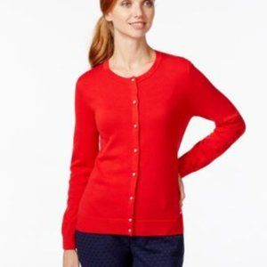 Tommy Hilfiger Embellished Button-Down Cardigan-S
